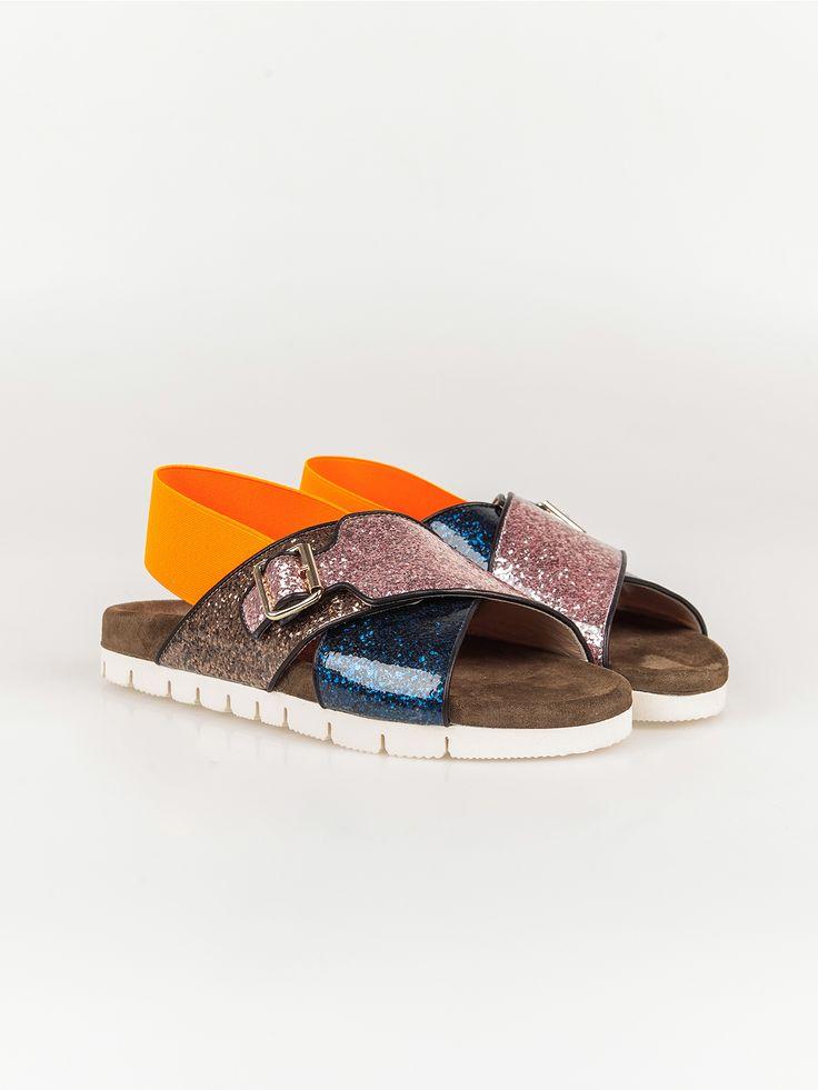 MSGM , Criss Cross Sandalet #shopigo#shopigono17#shoponline#womenswear#sneakers#MSGM