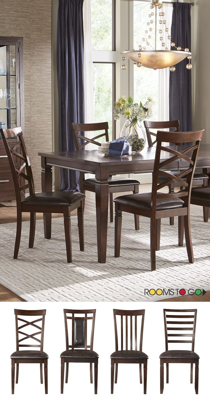 Riverdale Cherry 5 Pc Rectangle Dining Room Find Affordable Sets For Your Home That Will Complement The Rest Of Furniture