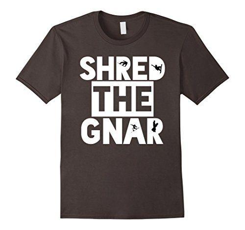 Men's Shred the Gnar Men's Women's Snowboarding T-Shirt S... https://www.amazon.com/dp/B01N69KNUJ/ref=cm_sw_r_pi_dp_x_2jdzybC8154G5