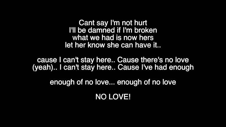 Keyshia Cole - Enough Of No Love (Lyrics Video)