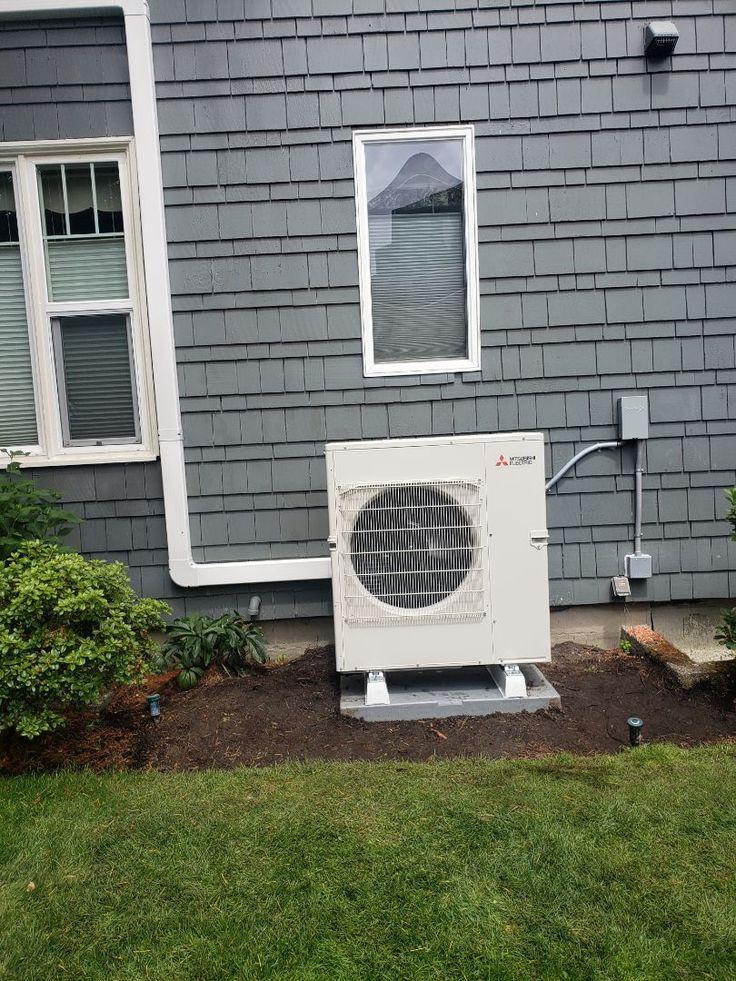 Install mitsubishi heat pump Heat pump, Dhp, Installation