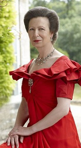 The Princess Letters Project:  Princess Anne's Official Portrait for her 60th birthday-2010