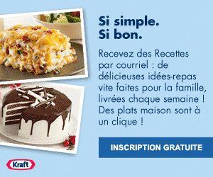 Recettes pour enfants : 7 à 9 ans- Kraft Canada