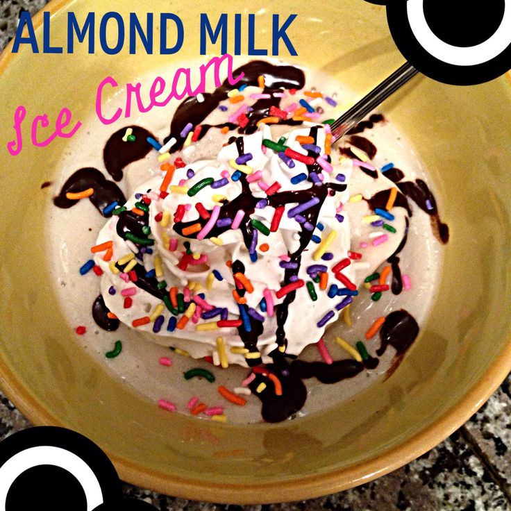 Easy Almond Milk Ice Cream Recipe