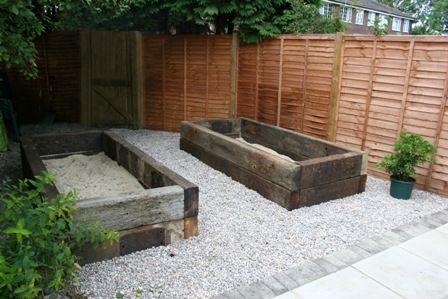 17 best images about sleeper gardens on pinterest for Sleeper garden bed designs