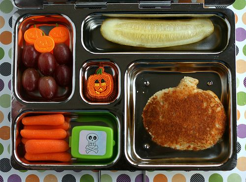 PlanetBox lunch - it's the Great Pumpkin