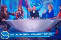 """awesome """"The View"""" Debates: Political Speeches At Oscars, Awards Shows (VIDEO)"""