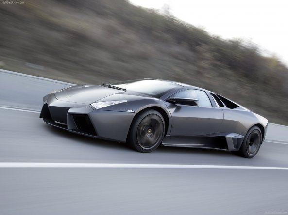 Lamborghini Reventon matte black
