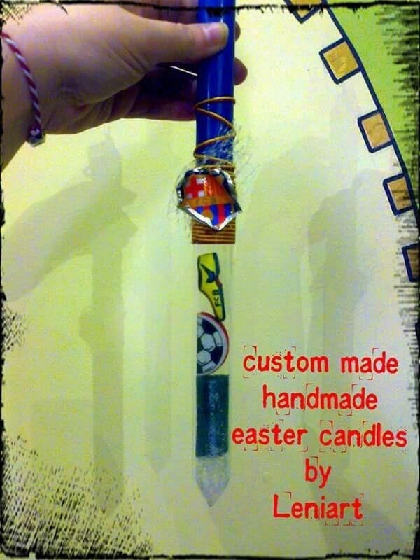 Η φρενίτιδα με τις ειδικές λαμπαδοπαραγγελιες συνεχίζεται..... Μπάρτσα λέμε και κλαίμε η πρώτη και για μία μικρή τρελοκαμπερο καλλιτέχνιδα η δεύτερη.... Leniart είσαι! #leniart #thessaloniki #easter #easter_candles #custom_made #handmade #gifts #joy #happy #love