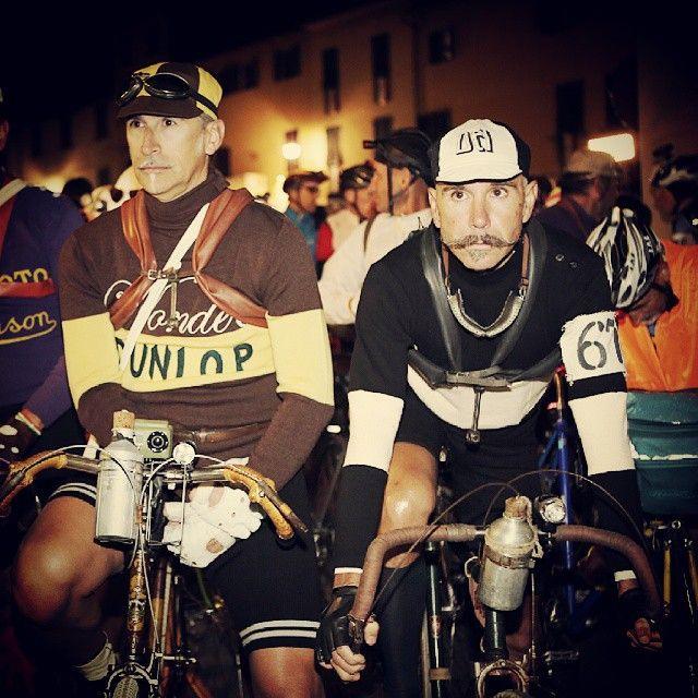 Pronti  alla partenza dell #Eroica2014 ore 5.00 #Eroica #gaioleinchianti #Toskana #Toscana #tuscany @igerstoscana @great_captures_italia @great_captures