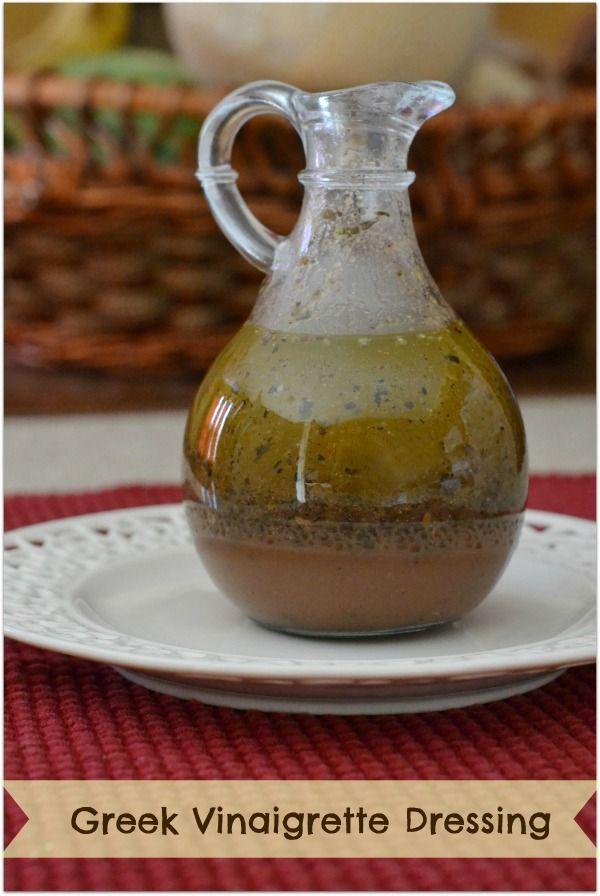 Homemade Greek Vinaigrette Dressing