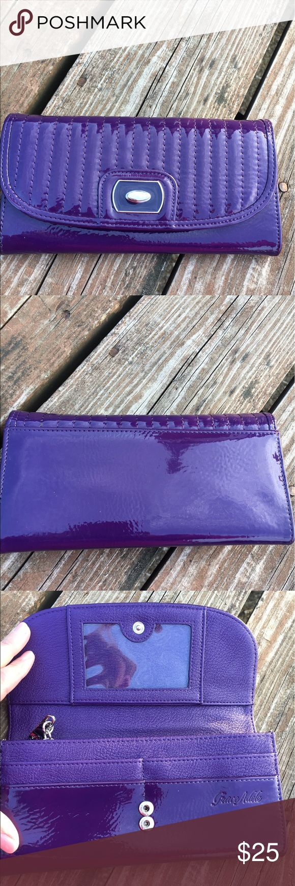 Grace Adele wallet New purple wallet. Tons of compartments! 💜 Bags Wallets