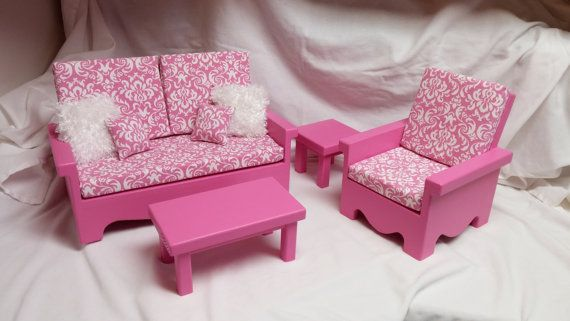 63 best Barbie Furniture images on Pinterest | Barbie furniture ...