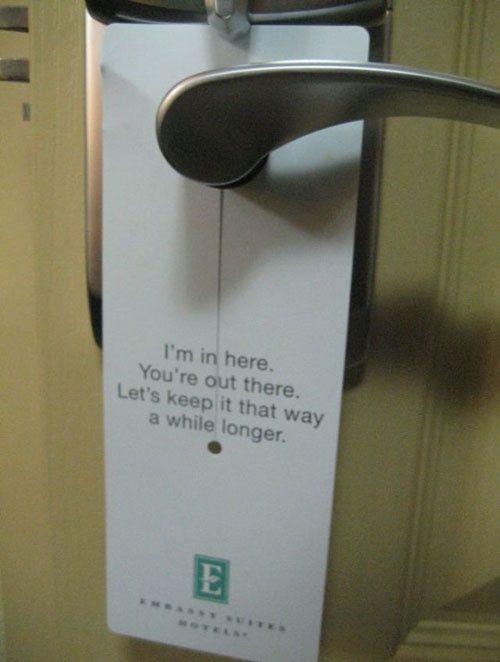 8 Best Do Not Disturb Signs Images On Pinterest Door