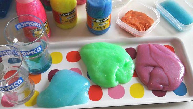 Connaissez-vous le Slime... cette pâte visqueuse et dégoulinante 100% faite-maison que l'on peut façonner et pétrir à l'infini !!