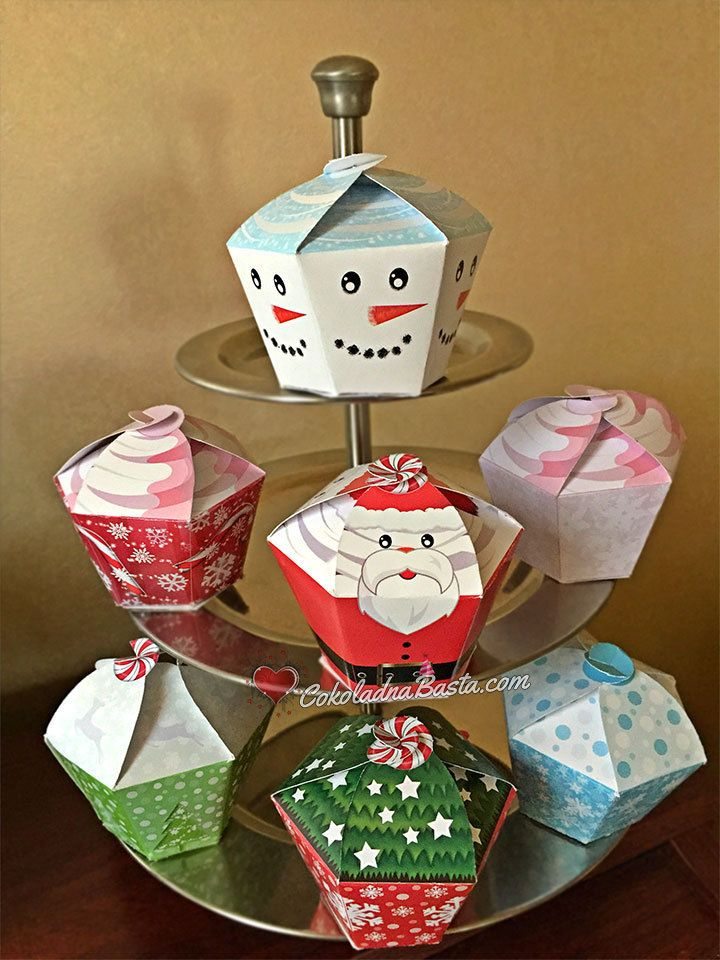 Welcome to Paper Craft! If you are looking for cupcake boxes for a special celebration, you have come to the right place. These individual Printable Cupcake Boxes make the perfect gift! Would not these be so cute for a Christmas treat? We have made for you 7 patterns inspired by Christmas and New Year. You can buy this set of 7 Christmas cupcakes boxes for special price or just your favorite one from our shop. This is a listing for PDF file with Christmas Cupcakes Box Set with 7 different…