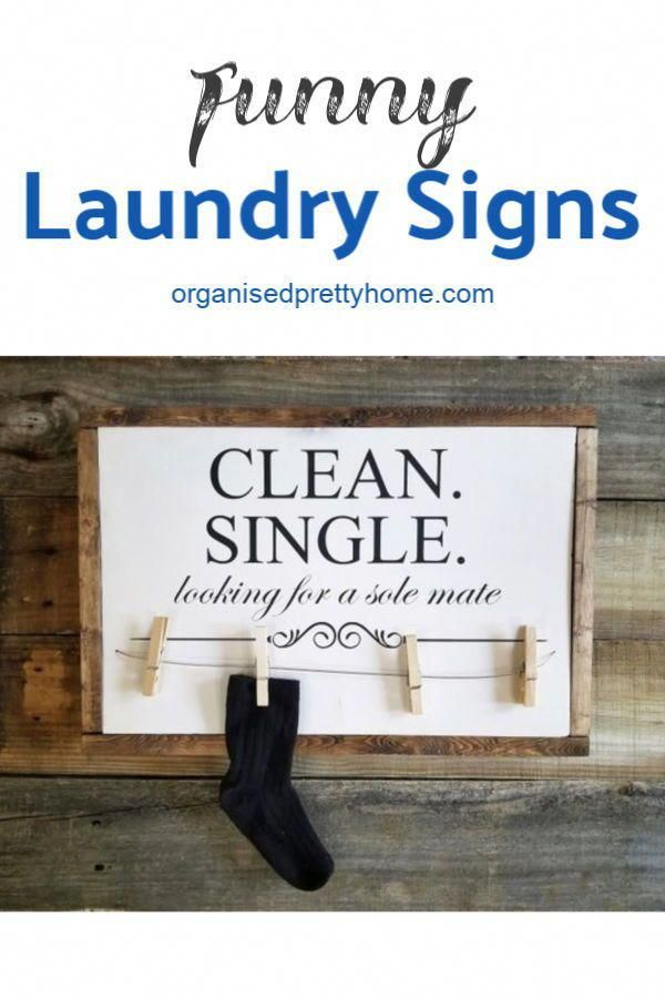 5 Brilliant Ideas For Designing A Laundry Room Organised Pretty Home Laundry Signs Laundry Decor Laundry Room Signs