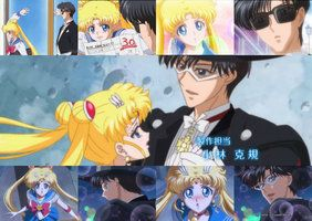 sailor moon crystal darien   Sailor Moon Crystal (Serena y Darien) by rosedestiny
