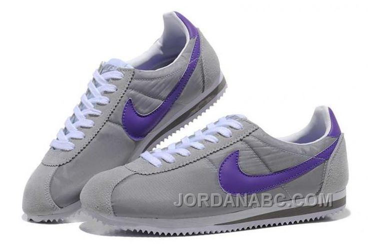 http://www.jordanabc.com/nike-cortez-oxford-cloth-men-shoes-grey-purple.html NIKE CORTEZ OXFORD CLOTH MEN SHOES GREY PURPLE Only $76.00 , Free Shipping!