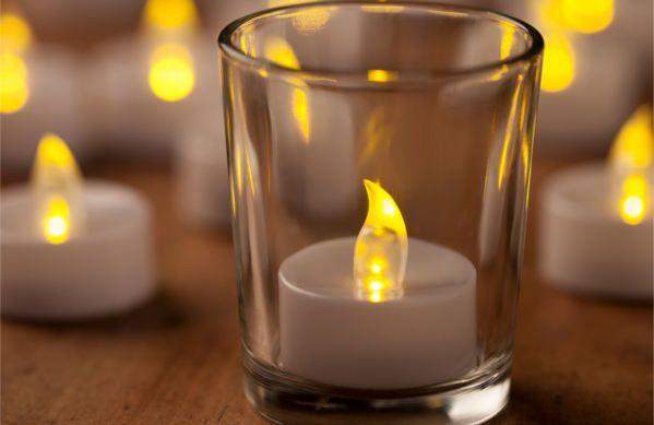 flameless tea candles