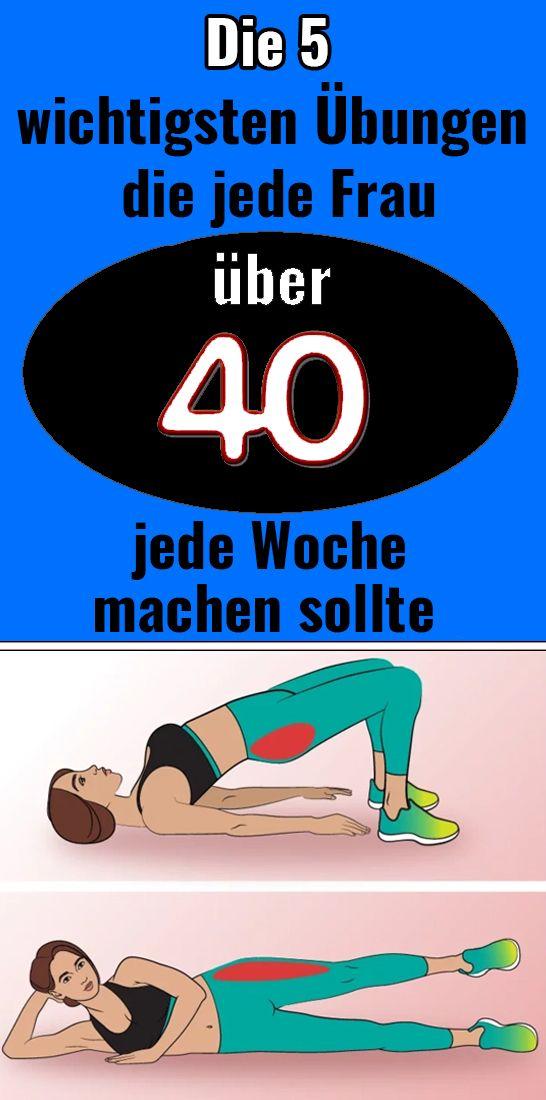 Die 5 wichtigsten Übungen, die jede Frau über 40 jede Woche machen sollte – Margrit Müller