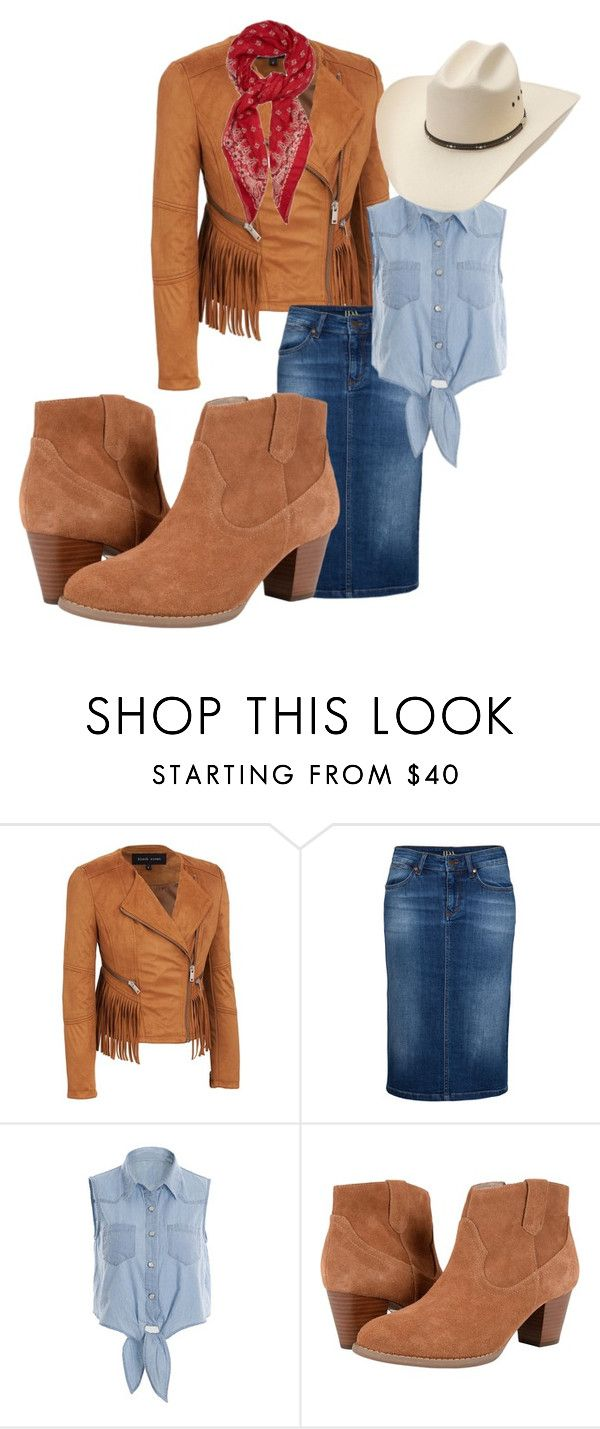 """""""Cowgirl Costume"""" by katy-atchison on Polyvore featuring IDA, Vionic and Yves Saint Laurent"""