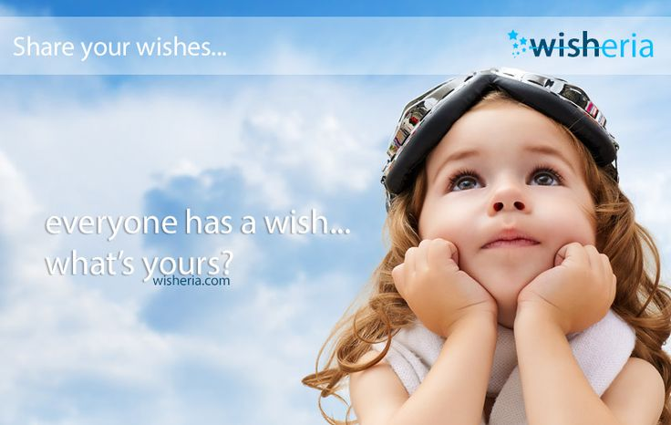 Everyone has a wish... What's yours? #wish #mywish