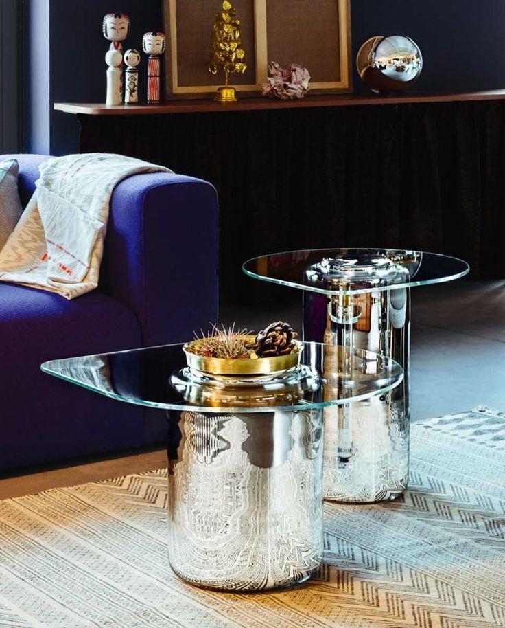 Dot glass table by Sebastian Bergne for Verreum #glass #table #Verreum