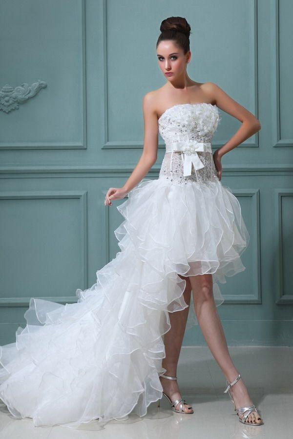 825 best Wedding Dresses images on Pinterest | Wedding frocks ...