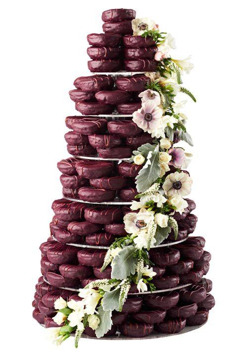 En nuestro afán de buscar cosas innovadoras y tendencias en el mundo bodil hoy queremos daros otra alternativa a la tarta nupcial: tartas de donuts. Hace un tiempo las típicas tartas nupciales de v…
