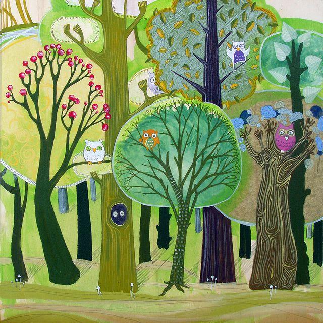 el bosque de los buhos - Miguel Bethencourt