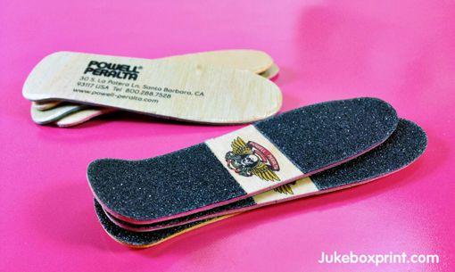 Skateboard Business Card