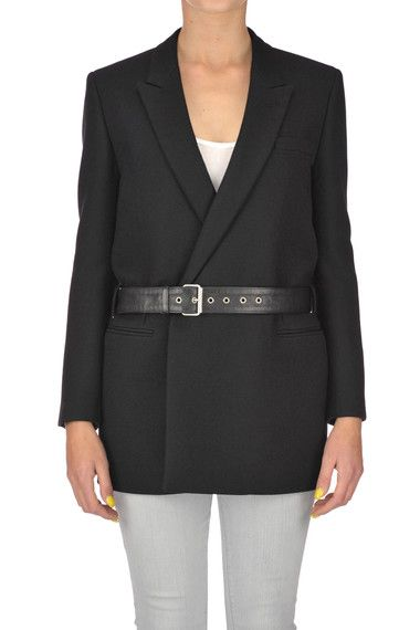 Buy Saint Laurent Jackets on glamest.com Fashion Outlet, select the Saint Laurent Double breasted wool blazer of your choice up to 50% off.
