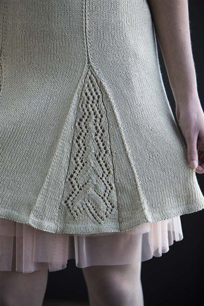 Shetland Skirt - Media - Knitting Daily #knit