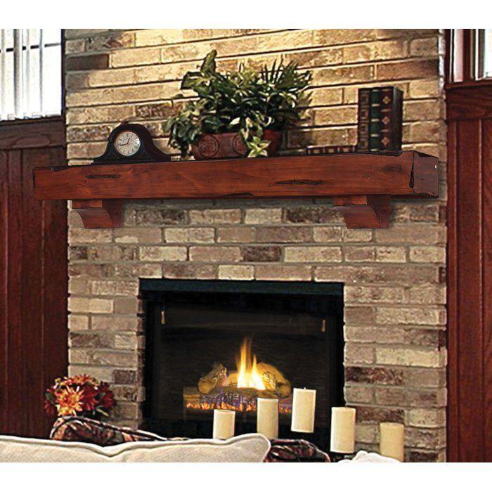 The Shenandoah Fireplace Shelf Mantel Traditional Fireplace