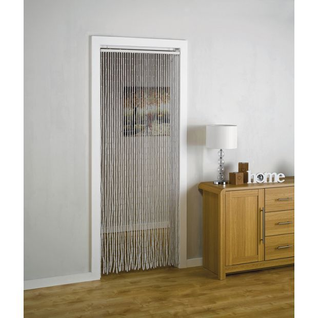 Buy HOME Beaded Door Curtains - 91x190cm - White at Argos.co.uk, visit Argos.co.uk to shop online for Curtains, Blinds, curtains and accessories, Home furnishings, Home and garden