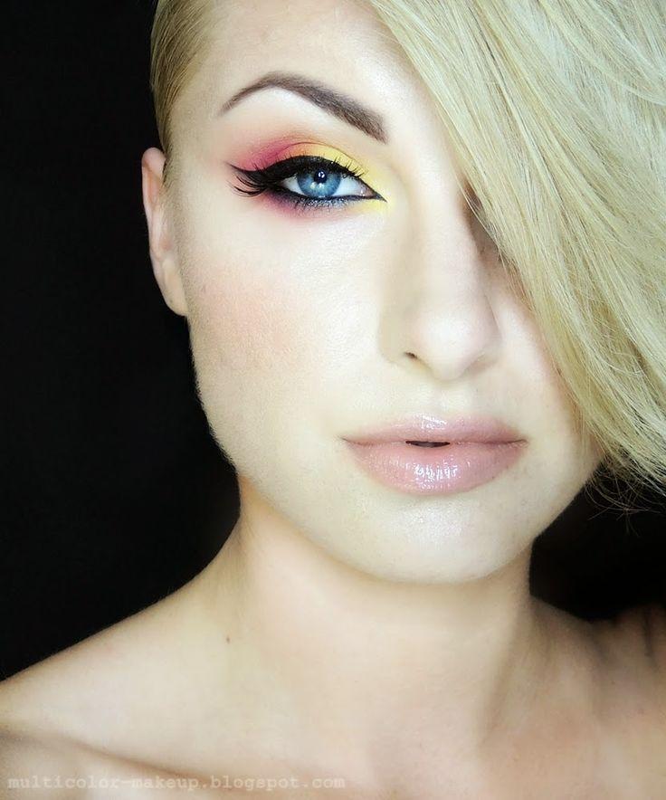 sun is rising... www.multicolor-makeup.blogspot.com