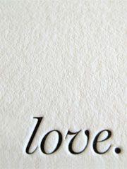 letterpress love. • bluepoolroad