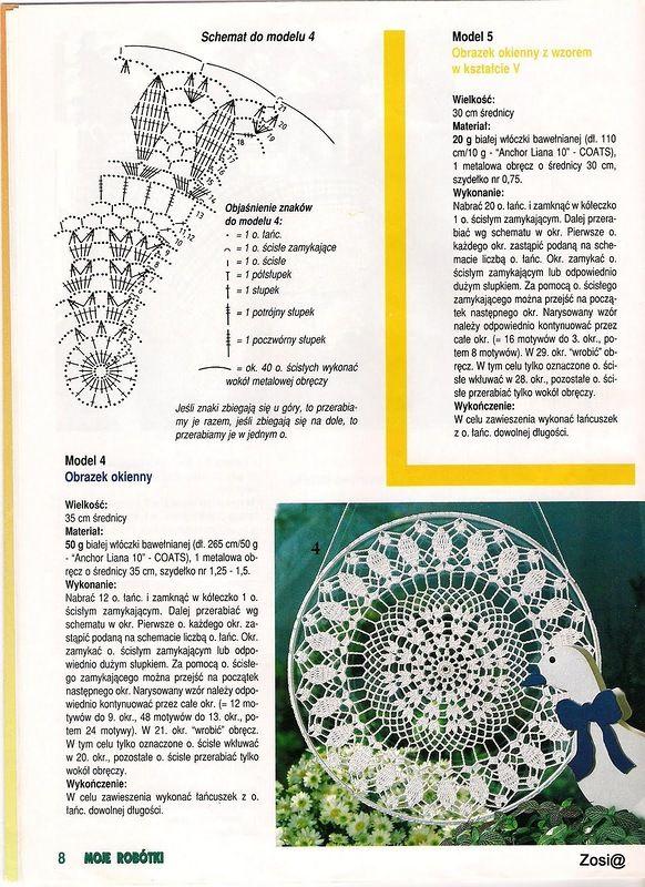 Crochet atrapa sueños ♡