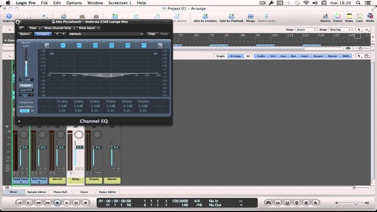 Logic Pro 9 - First steps to record vocals