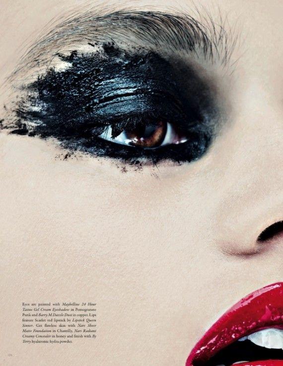 Makeup Artist Sarah Jagger for Lone Wolf Magazine