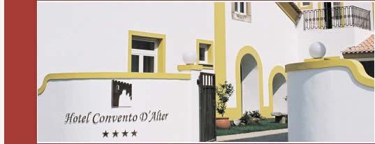 Hotel Convento D'Alter, situado precisamente na Vila alentejana de Alter do Chão,