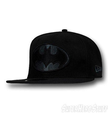 Batman Grey Symbol Black 59Fifty Cap