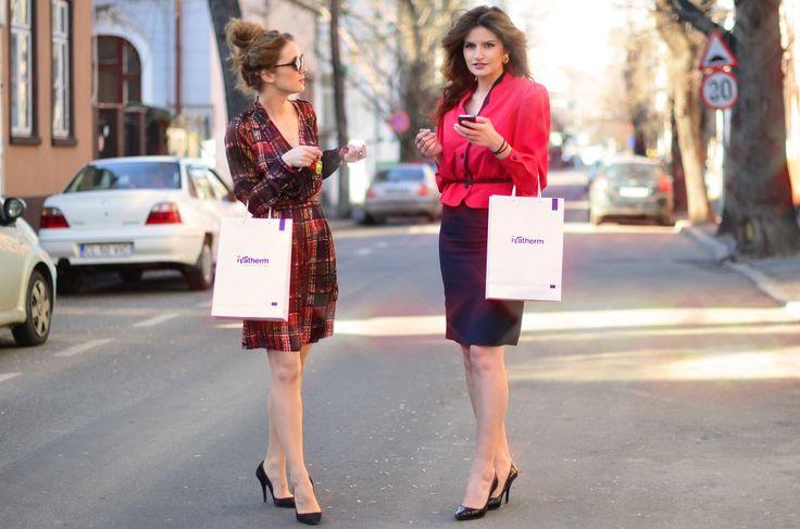 Andreea Bucovineanu (Ivatherm)  and Ionela Mandrescu #prettygirl #beauty #ivatherm #herculanethermalwater #fashion