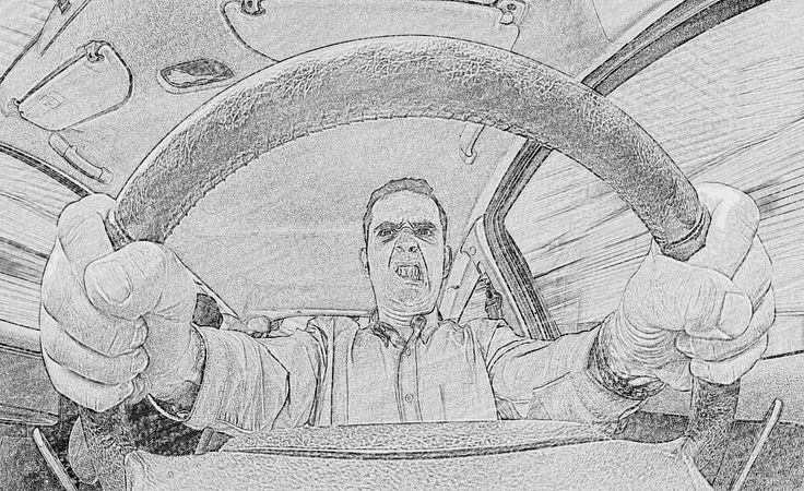 STAY CALM and keep driving :)  That's my first advice to avoid a car crash. You will see the rest of MY HINTS HERE http://survivalhints.com/car-accidents