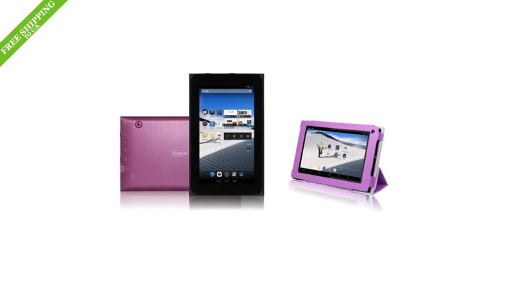 "iView SupraPad 7"" Android 4.2 Tablet PC- Pink"