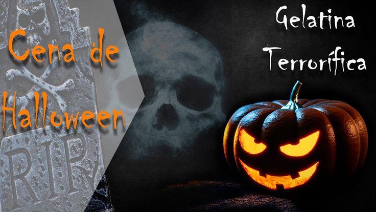 Cena de Halloween #1: Gelatina terrorífica
