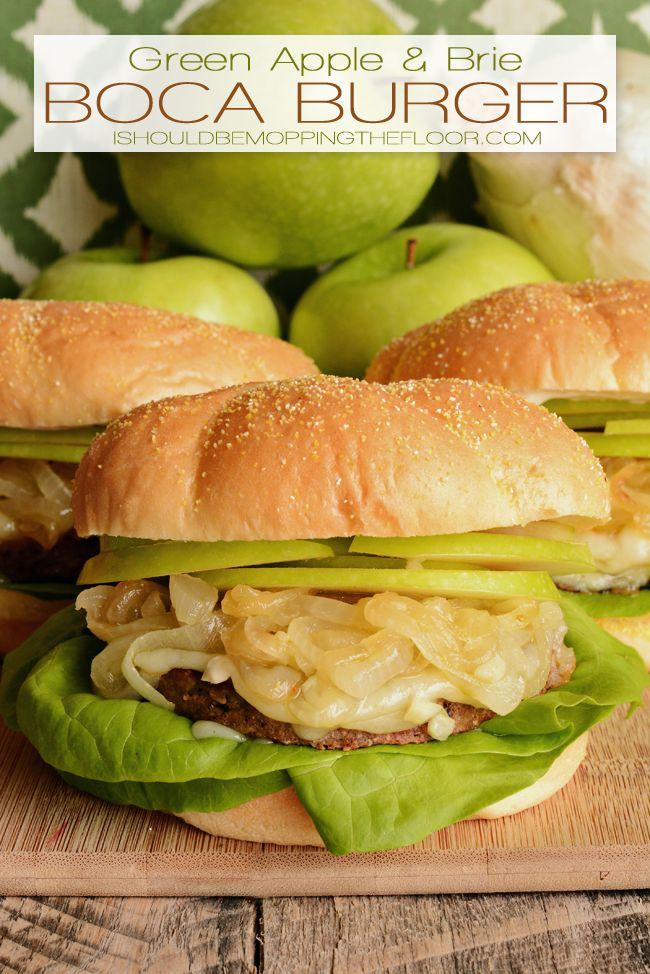 Green Apple and Brie Boca Burgers Recipe