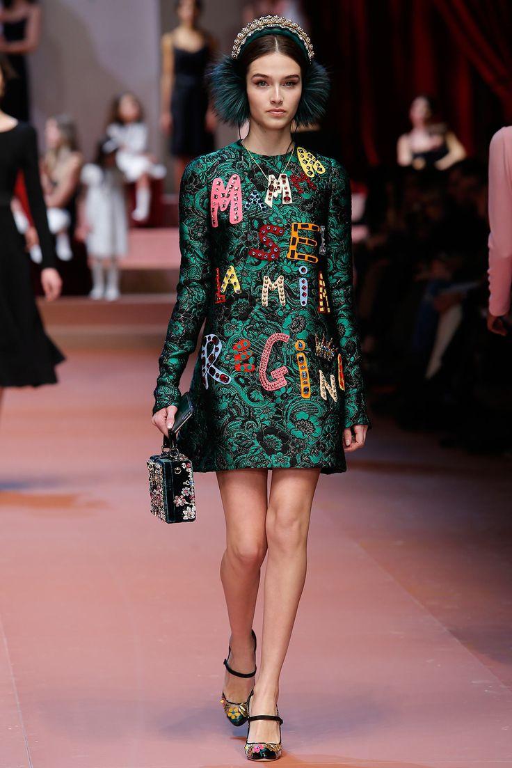 Dolce & Gabbana - Fall 2015 Ready-to-Wear - Look 48 of 91