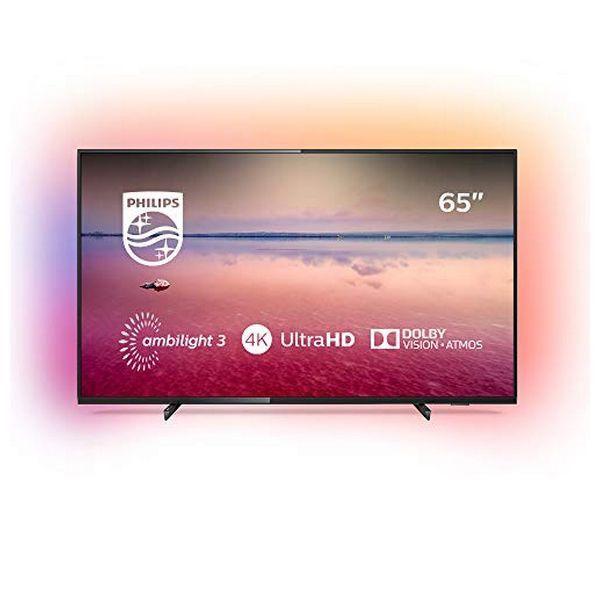 Smart Tv Philips 65pus6704 65 4k Ultra Hd Led Wifi Black Kedak Smart Tv Samsung Technologie Fernbedienung
